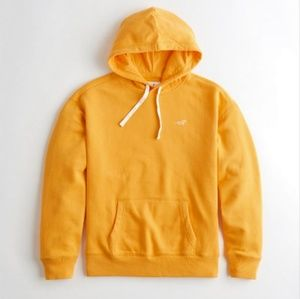 Nwt Mens Hollister Classic Yellow Hoodie